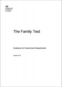 Family test guide